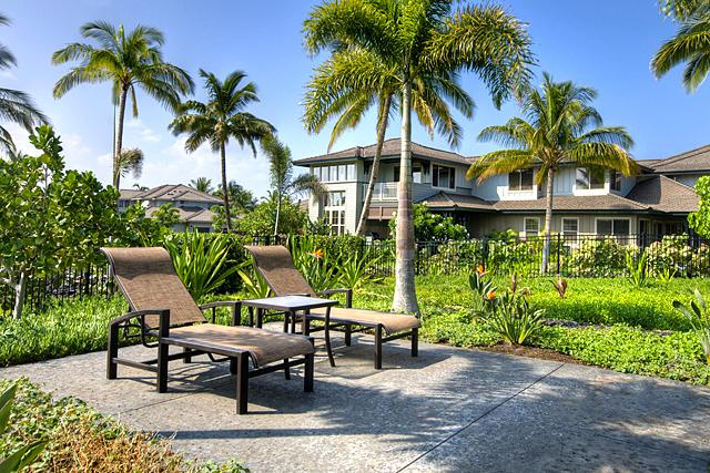 View of Villa from Poolside Lounger - Kulalani 2006 - Mauna Lani Luxury Poolside Villa - Kohala Ranch - rentals