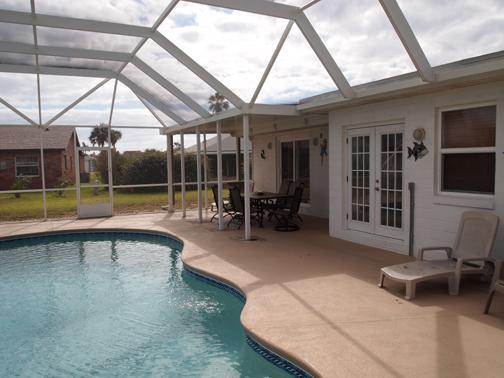 Pool - Beach/Pool Home near Daytona in Ormond by the Sea - Ormond Beach - rentals