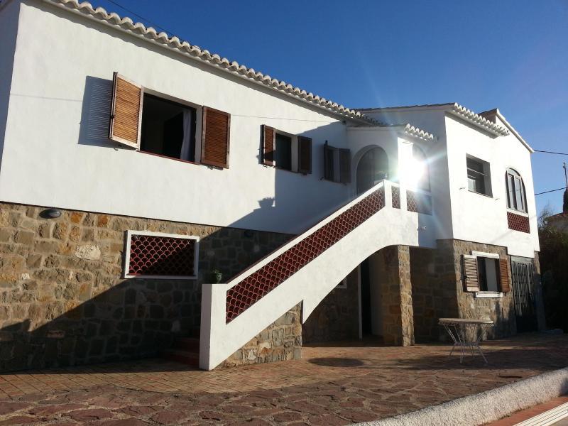Front of villa - La Paloma, Los Pinos - Calpe - rentals