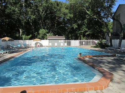Amelia Landings:  We have a very large pool that everyone enjoys anytime time of day! - Cozy and Affordable 2BR/2BA Amelia Island Condo - Fernandina Beach - rentals