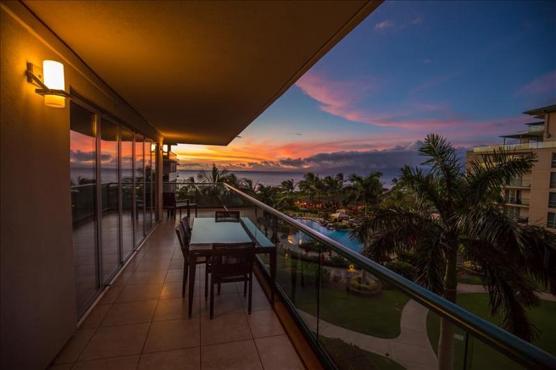 Amazing Ocean Views from INSIDE the condo with Wrap Around Lanai!!  Honua Kai - Image 1 - Ka'anapali - rentals