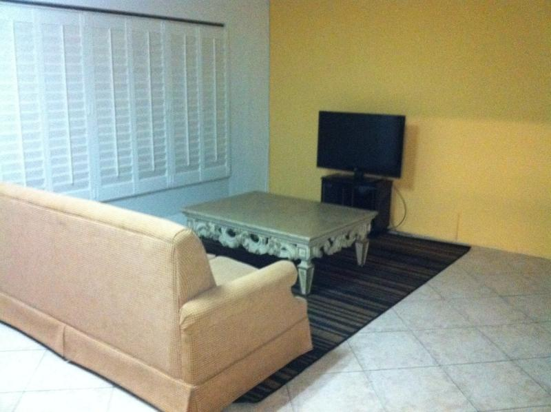 Living area with sofa bed - Spacious apartment in downtown Aruba! - Oranjestad - rentals