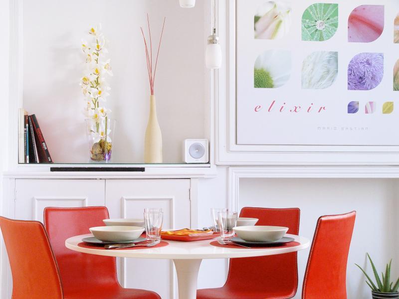 Salon - Living room - Design Apartment in Madrid Historic Centre - Madrid - rentals