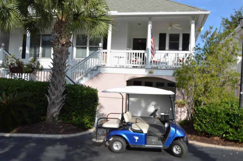 Villa with golf cart, private garage, outside shower - GOLF CART and KAYAKS, BICYCLES w/ CONDO RENTAL! - Isle of Palms - rentals