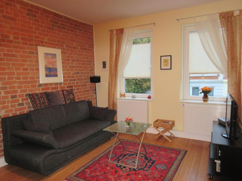 Living room - Delightful Pied à Terre in Lübeck - Lübeck - rentals