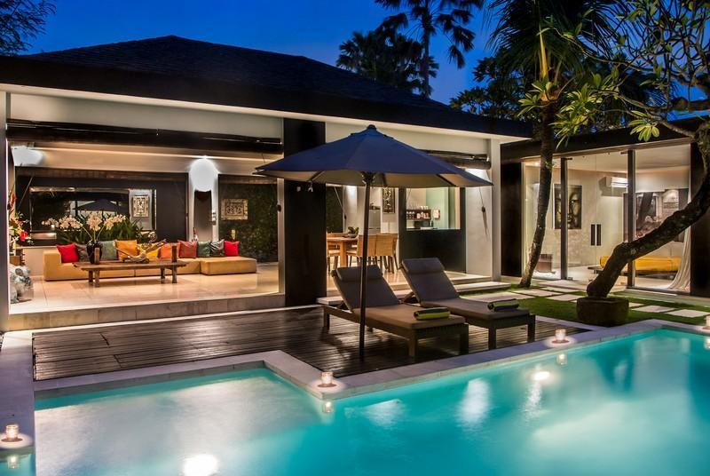 General view - Kembali, Luxury 2 BR Villas, near beach, Seminyak - Seminyak - rentals