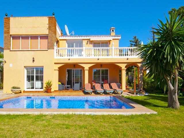 Beach Villa Costanera in Marbella - Image 1 - Marbella - rentals