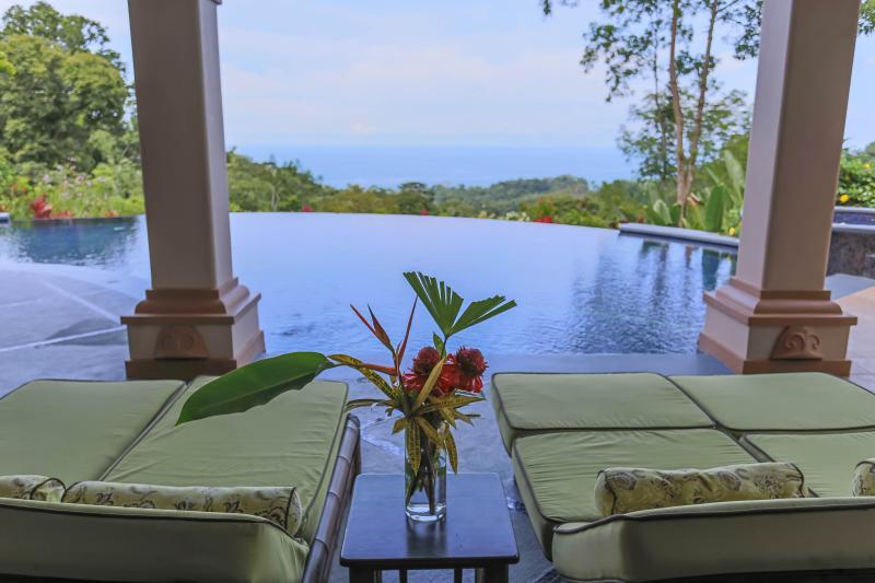 Ocean View from Pool - Mareas-Destination Wedding-Yoga Retreats-Reunions - Dominical - rentals