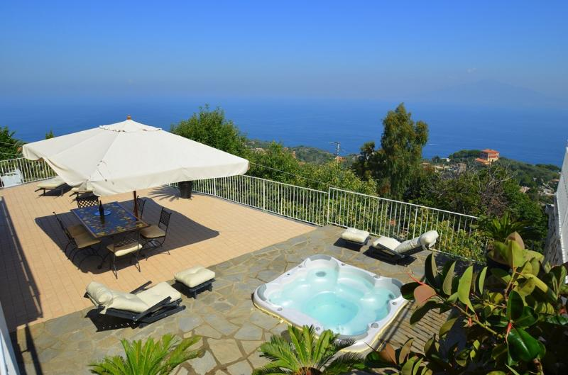 Amalfi Coast Villa with Private Jacuzzi  - Villa Sirenusa - Image 1 - Sorrento - rentals