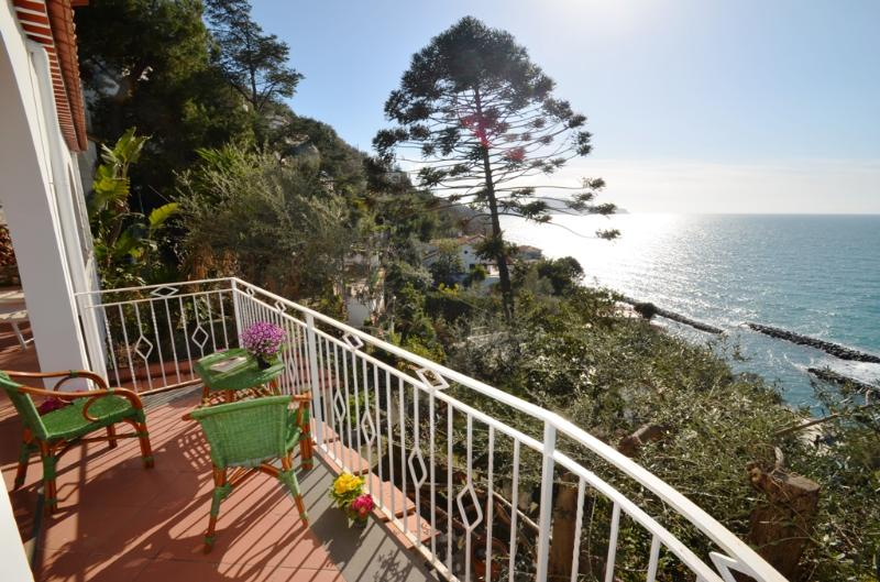 Walk to Town Villa with Sea and Island Views - Villa Carla - Image 1 - Massa Lubrense - rentals