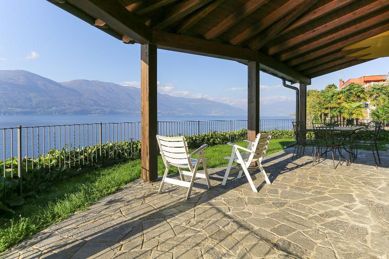 Private terrace with lake views - Lakeside villa in the Italian Lakes (BFY14005) - Castelveccana - rentals