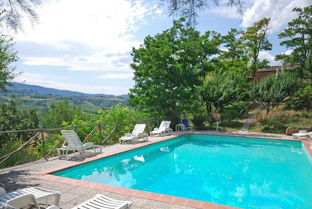 Private swimming pool - 6 bedroom villa Tuscany (BFY13480) - San Gimignano - rentals