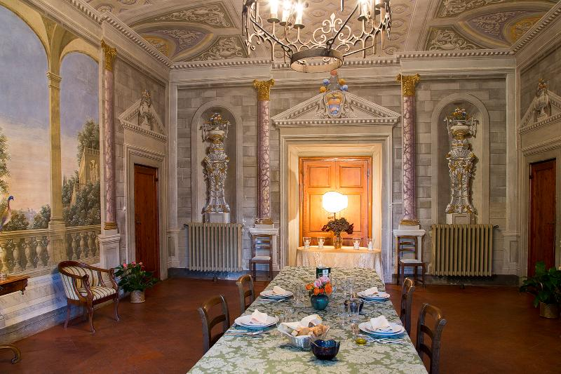 Dining room within main villa - Apartments near Florence (BFY13182) - Impruneta - rentals