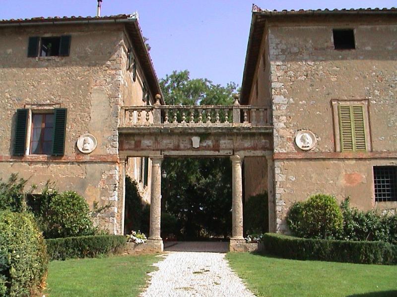 Property exterior - Historic villa in Tuscany (BFY13535) - Monteriggioni - rentals