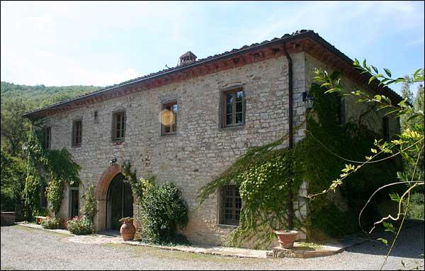 Property exterior - 6 bedroom villa in Tuscany - Gaiole in Chianti - rentals