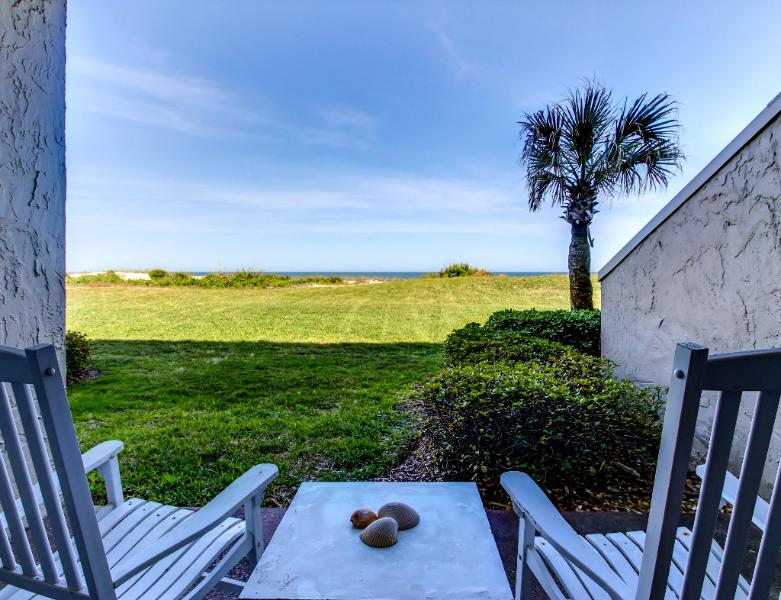 Cozy ground floor one bedroom ocean front condo - Image 1 - Amelia Island - rentals
