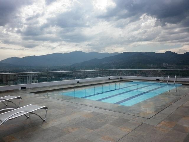 TOP OF THE WORLD - NEW, 23rd FLOOR w/ROOFTOP POOL - Image 1 - Medellin - rentals