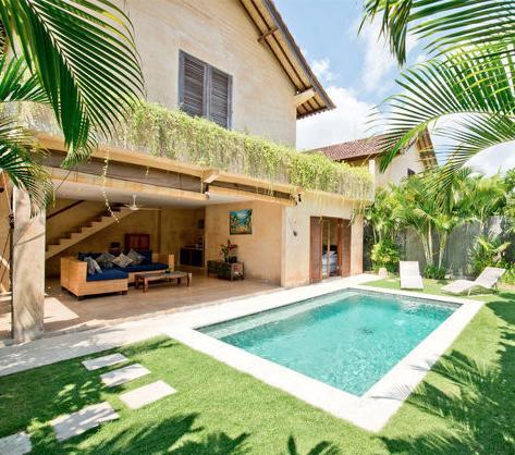 Villa and Pool view - Rumi 2, Luxury 2BR Villa, Central Seminyak - Seminyak - rentals