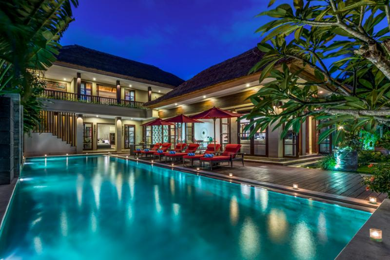 Villa Nilaya by Night - VILLA NILAYA, LUXURIOUS & SPACIOUS, GREAT LOCALE - Seminyak - rentals
