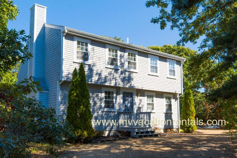 Entry Side of House - MAYOJ - Modern Lovely Home, Centrally located In the Dodger's Hole Area - Edgartown - rentals