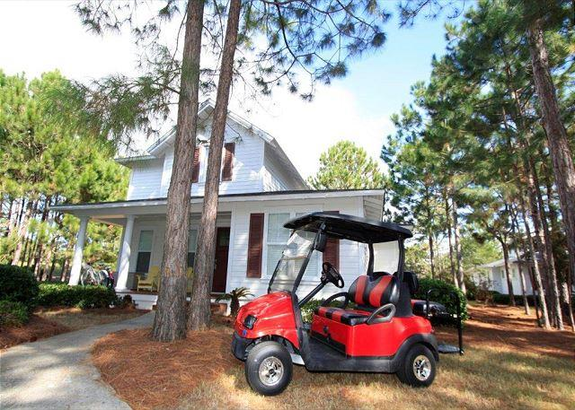 "House with Golf Cart - ""Golfing Around"" in Laurel Grove w/Golf Cart! Free Raven Golf! - Sandestin - rentals"