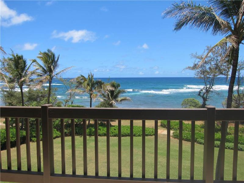 Kaha Lani Resort #326-OCEANFRONT, Top Unit! - Image 1 - Kapaa - rentals