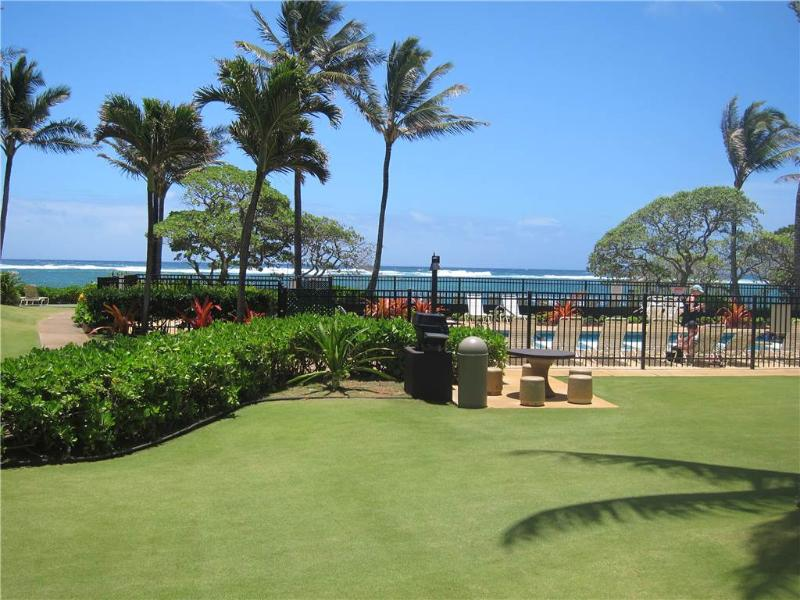 Kapaa Shore Resort #118-Oceanview, New! King Bed! - Image 1 - Kapaa - rentals