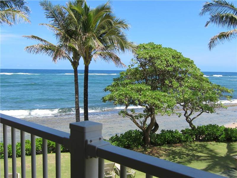 Kapaa Shore Resort #227-OCEANFRONT w/Wash/Dryer! - Image 1 - Kapaa - rentals