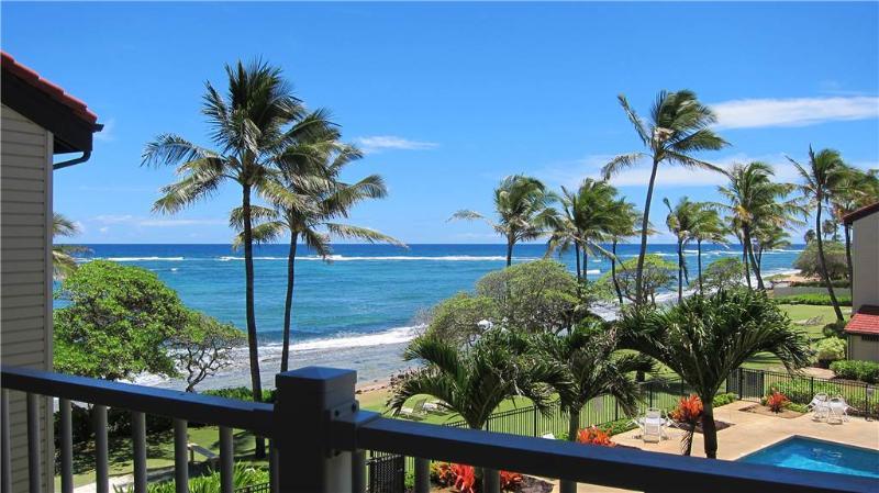 Kapaa Shore Resort #324-OCEANVIEWS, washer/dryer!! - Image 1 - Kapaa - rentals