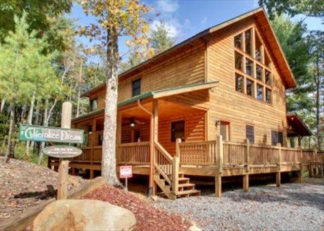 CHEROKEE DREAM - BEAUTIFUL NEW 3 BEDROOM CABIN LOCATED IN NORTH GEORGIA MOUNTAINS - Epworth - rentals