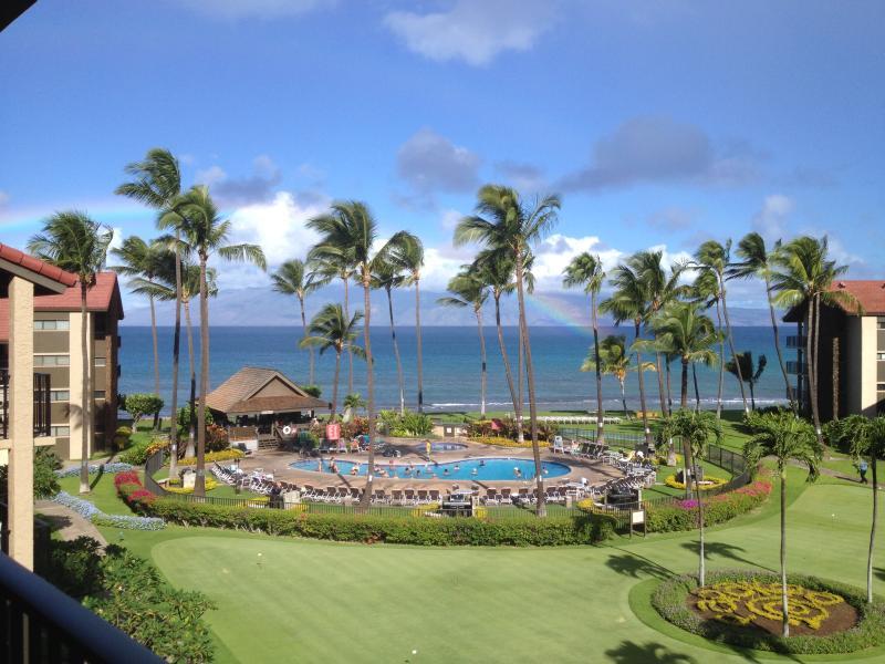 Lanai and Master bdrm view - Luxury Oceanview 3 Bedroom / 2 Bath J-402 Papakea - Ka'anapali - rentals