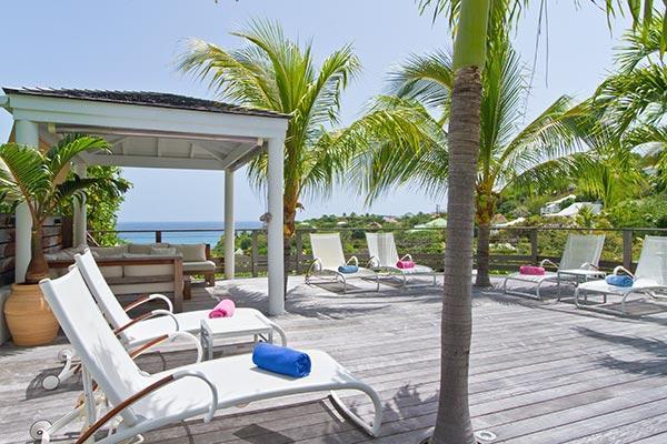 Perfect island villa with a magnificent view over bay of Marigot WV GEN - Image 1 - Marigot - rentals