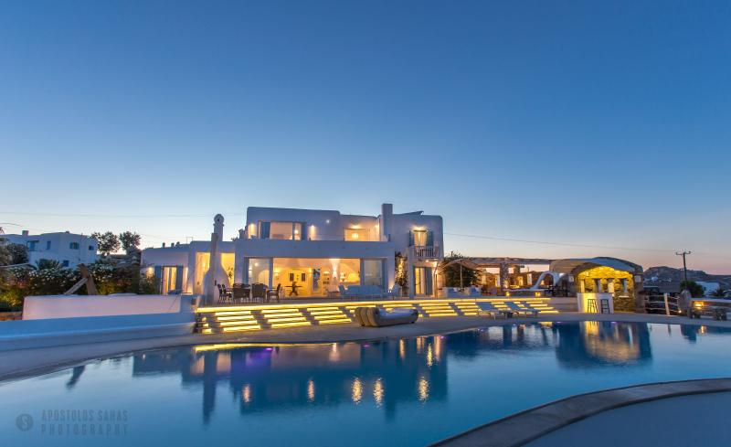 Ha - Villa Alegria  Unique Villa near Kalo Livadi Beach - Mykonos - rentals