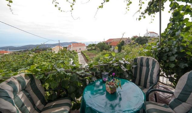 balcony with great sea view - Holiday house in Orasac near Dubrovnik - Dubrovnik - rentals