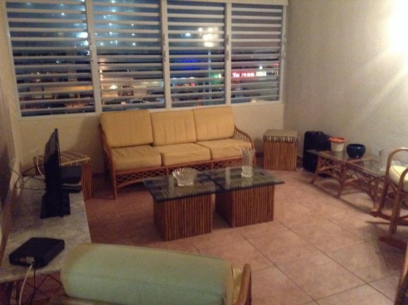 Living room - Beach Front Apartment - San Juan - rentals