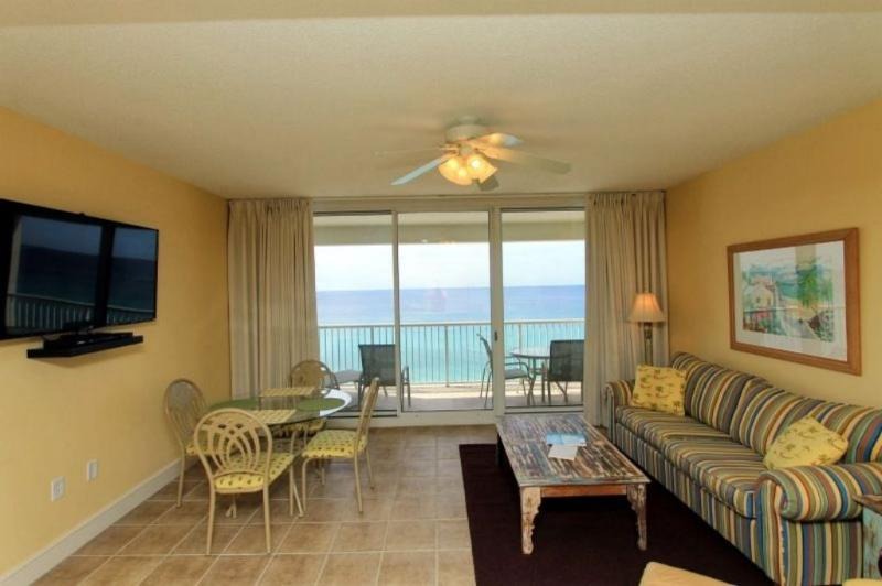 Breathtaking Views from your Gulf Front Living Area - Gulf Front Balcony View at Majestic Beach Resort - Panama City Beach - rentals
