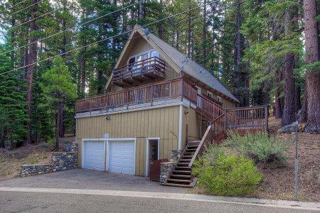 Upscale A-frame Cabin with Lots of Space and Hot Tub ~ RA683 - Image 1 - South Lake Tahoe - rentals
