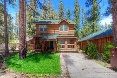 Home with Hot Tub Just 2 Blocks from Beach ~ RA708 - Image 1 - South Lake Tahoe - rentals
