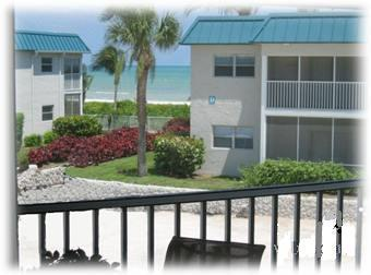 View from the front lanai - Beautiful Beachview Condo! - Sanibel Island - rentals