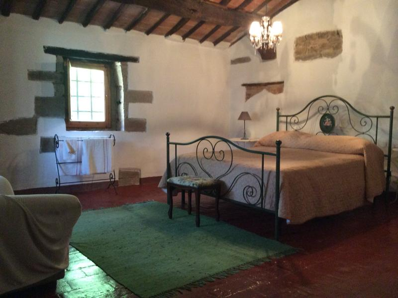 Master Bedroom - 2 brmTuscan House near everything  (Lucca/Pisa) - Pisa - rentals