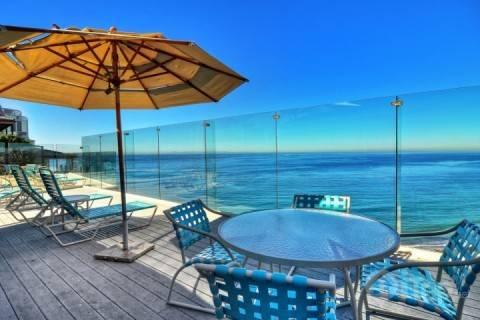 Ocean view deck in front of condo - Dana Point Luxury Oceanfront Condo - Dana Point - rentals