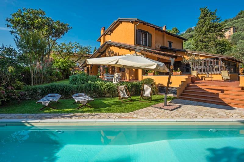 Countryside Rental at Villa Virgilio Pietrasanta - Image 1 - Monte San Quirico - rentals
