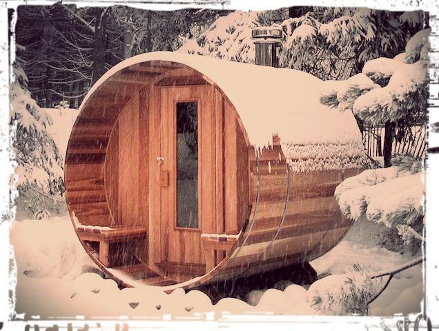 lakeside sauna to warm your bones all year round - Life is bigger when we're together - Gravenhurst - rentals