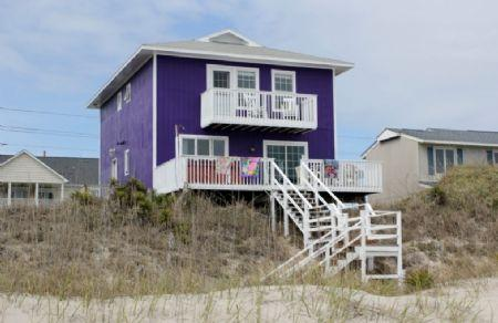 Exterior Oceanfront - As Soon as Possible-SUN 4BR - Emerald Isle - rentals