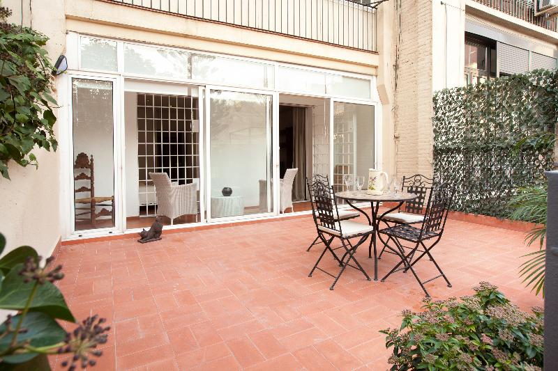 1792 - Eixample - The Private Garden Apartment - Image 1 - Barcelona - rentals