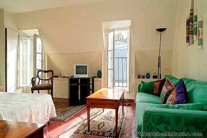 Petit Coin de Paradis Studio - ID# 112 - Image 1 - Paris - rentals