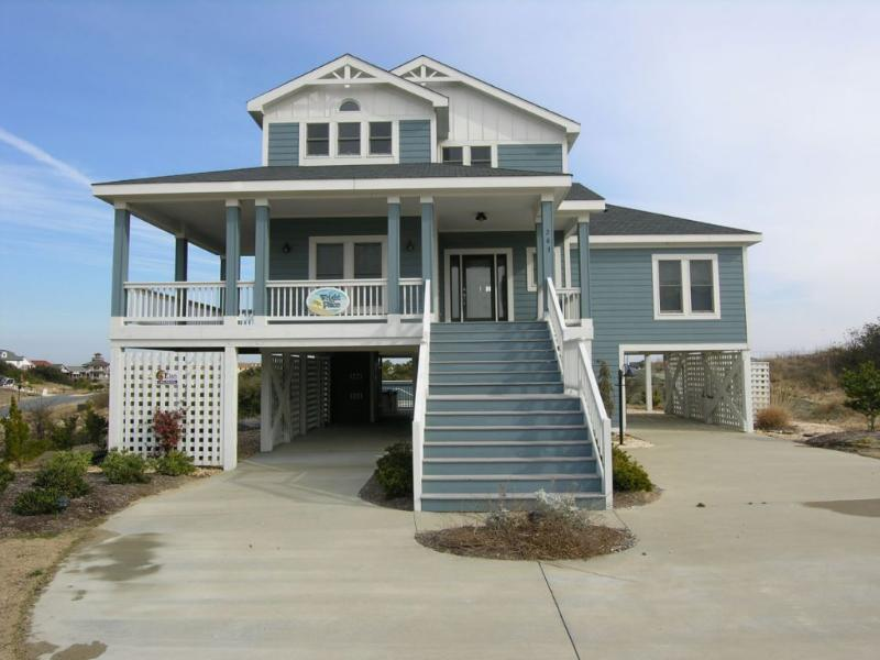 Front Elevation - Always The Wright Place - Former Award Winning Model - Kitty Hawk - rentals