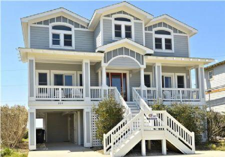 Front Elevation - The Wright Choice - Kitty Hawk - rentals
