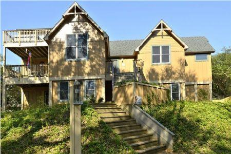 Front Elevation - Flip Flop Inn - Southern Shores - rentals