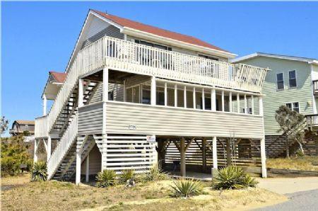 Front elevation - Sunny Delight - Nags Head - rentals